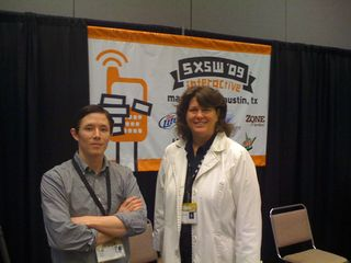 Margot Lester & Tod Moy at SXSW