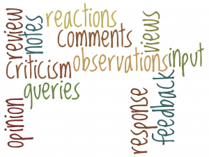 A nifty revision-related word cloud