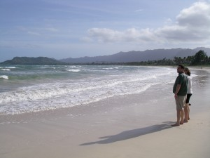 looking far and wide for blog topics at kailua, hawai'i