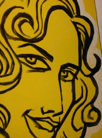 portrait of Margot Lester by Marc Borzelleca