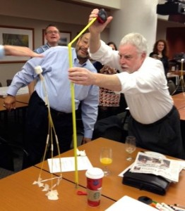 the winning structure at the Chamber's board retreat