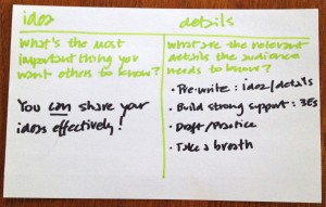 The Idea-Details® Strategy from Teaching That Makes Sense, Inc.