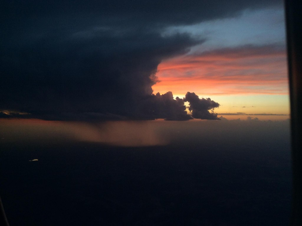 The view from 39,000 feet