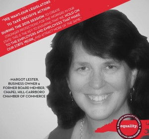 Margot Lester Business Equality Council Ad