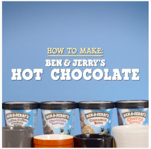 Ben & Jerry's hot chocolate video