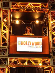 a funny photo of Margot Lester at Content Marketing World 2015