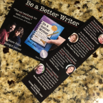 Be a Better Writer Bookmark and Promo Card