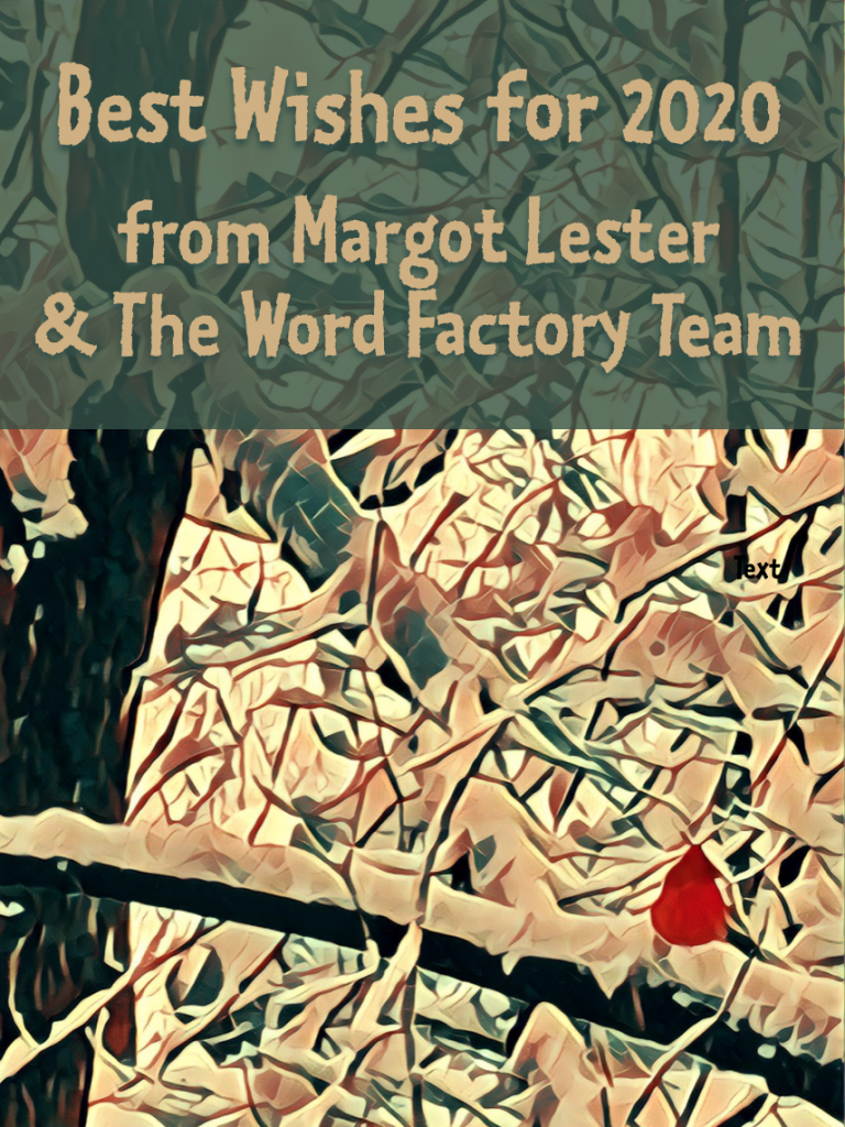 The World Factory's manipulated photo holiday card designed by Margot Carmichael Lester